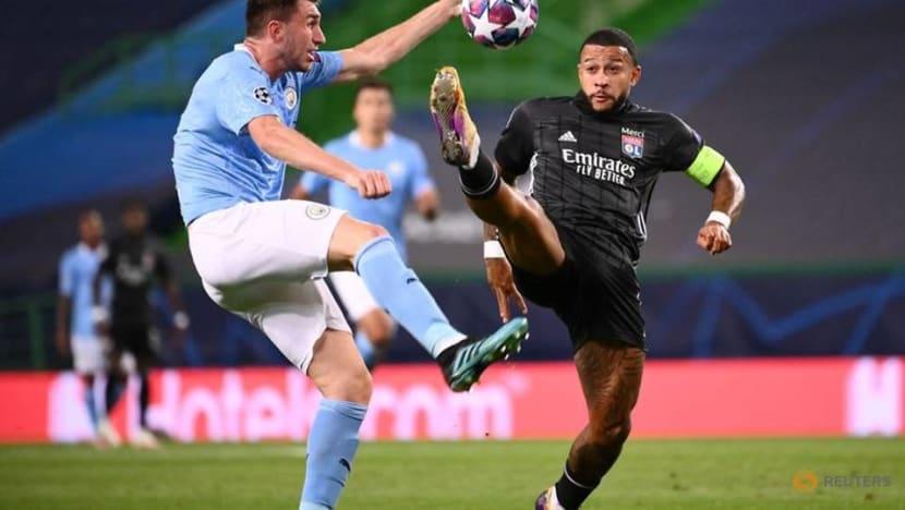 Football: Lyon upset Man City to set up Champions League semi with Bayern