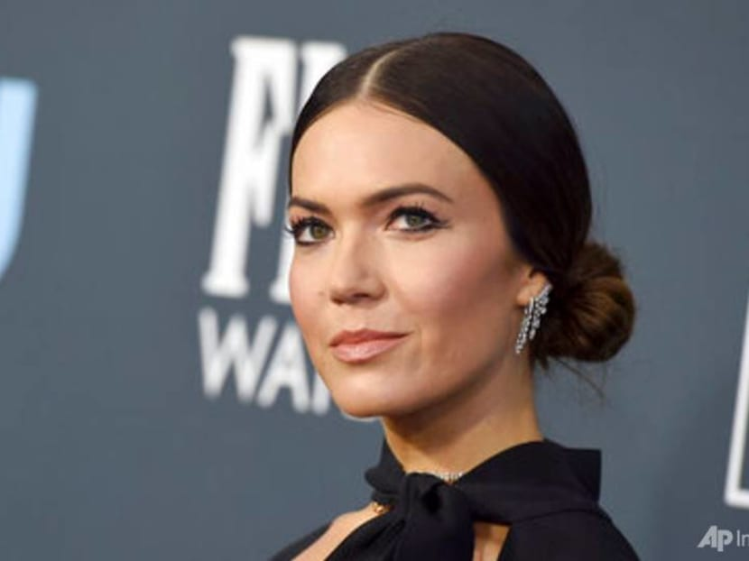 Actress Mandy Moore announces birth of son 'right on his due date'