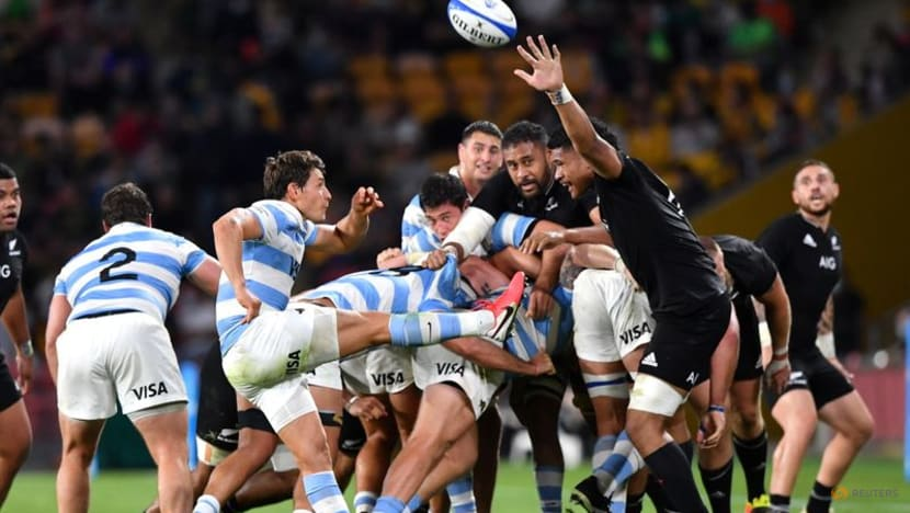 Rugby: All Blacks back on top of the world after win over Argentina