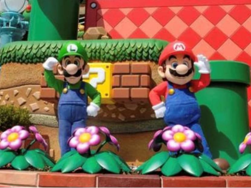 Super Mario leaps into real world in Universal Studios park launch in Osaka, Japan