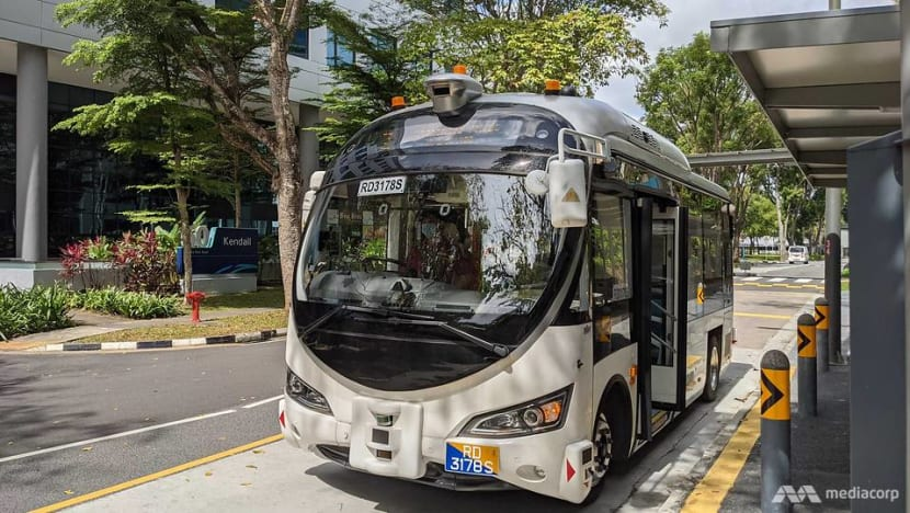 Commentary: Self-driving buses and delivery robots welcomed but who do we blame if AI goes rogue in Singapore?