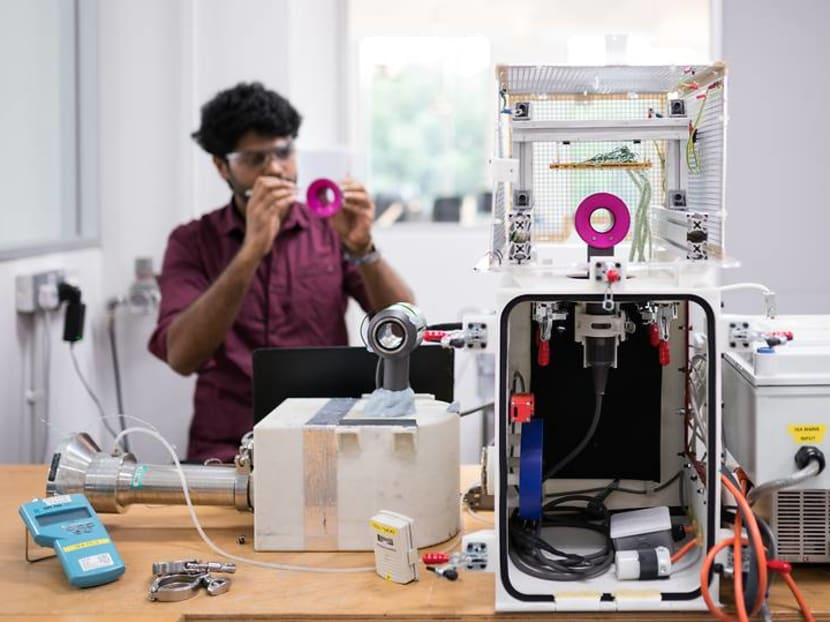 Dyson develops its products here in Singapore – and they hire fresh grads