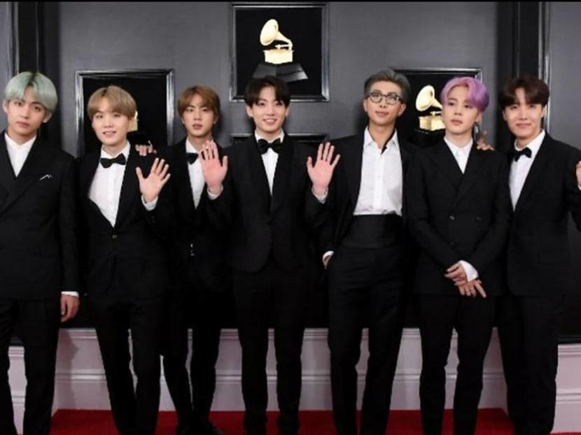 BTS make history as the first K-Pop Grammy presenters