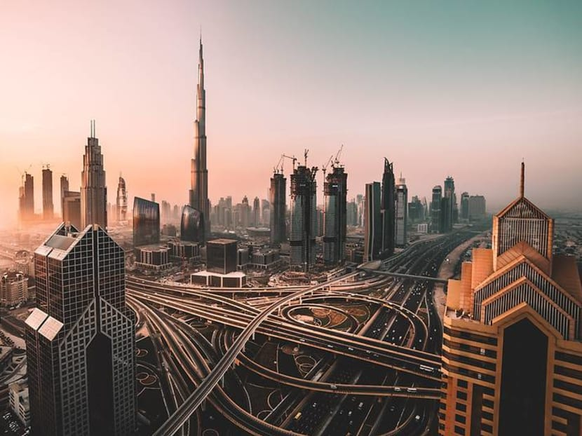 'Like being in a sci-fi movie': Exploring the sights and roller coasters of Dubai