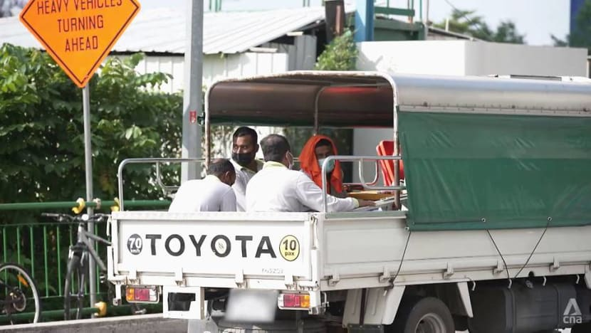 23 offenders caught ferrying workers on lorries without canopies or with inadequate canopies in first half of 2021