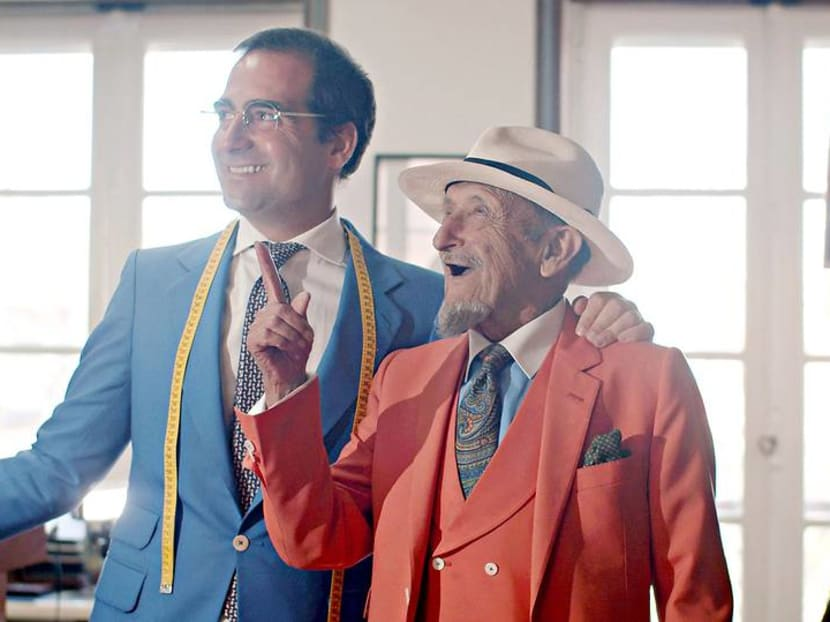 The tailor who'll only make five suits a month – 500,000 stitches at a time