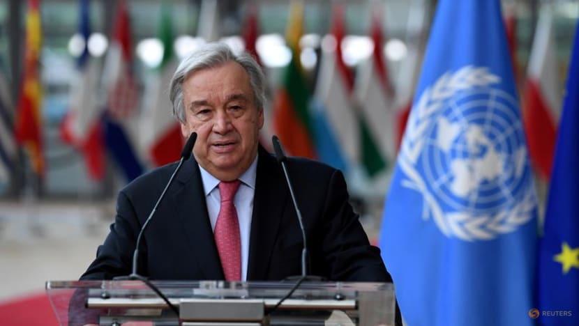UN chief urges Taliban restraint, voices concern about women, girls