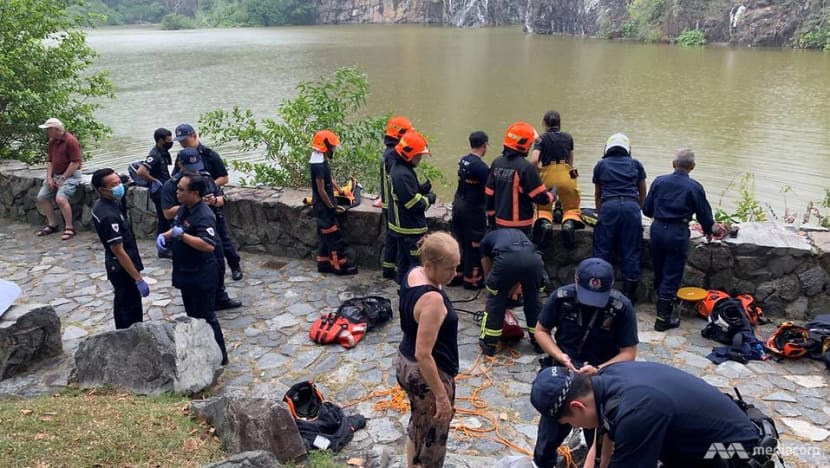 Woman rescued from lake at Xiao Guilin after British tourists sound the alarm