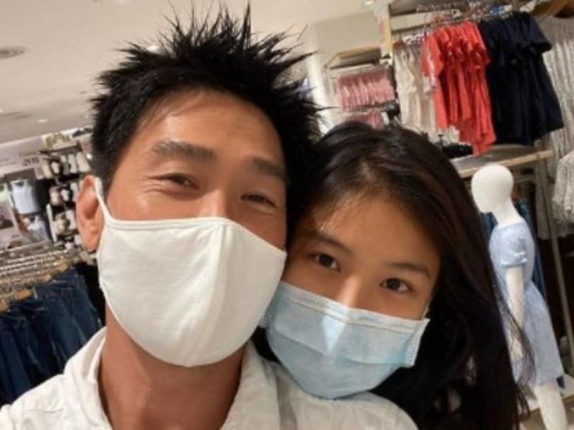 How does actor Edmund Chen feel about daughter Yixin's boyfriend?