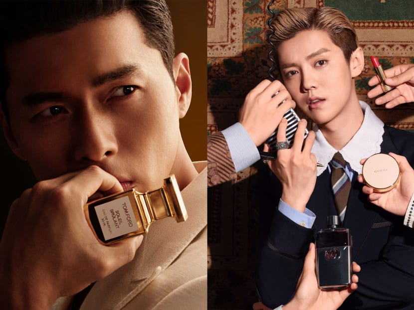 Why male celebs like Hyun Bin and Lu Han are becoming the face of beauty products