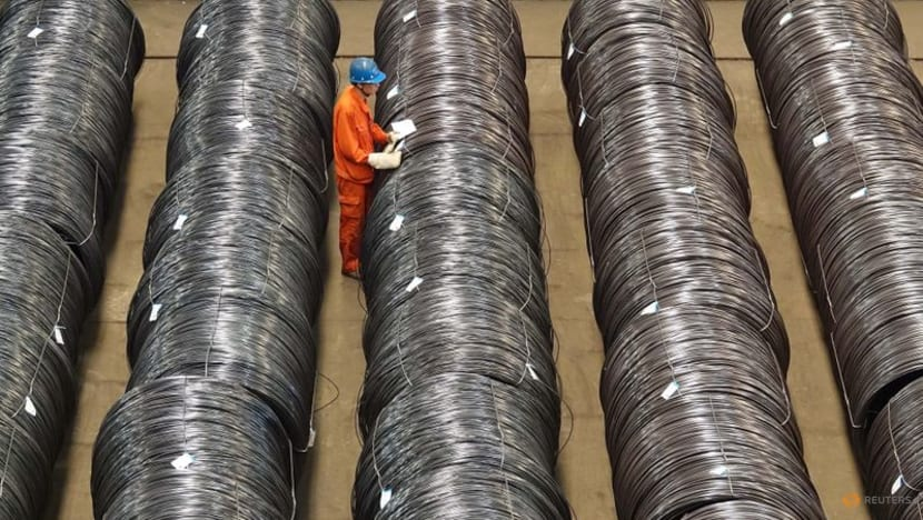 China's crude steel output slips for third month on production curbs