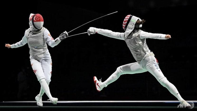 Fencing: Singapore's Amita Berthier falls to world No 5 Kiefer