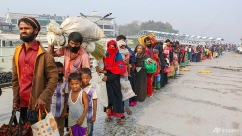 India finds boat adrift with Rohingya refugees; 8 dead