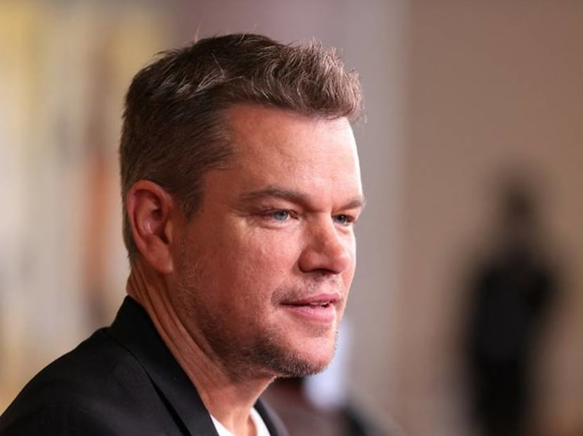 Matt Damon says he stopped using slur word after being told off by his daughter
