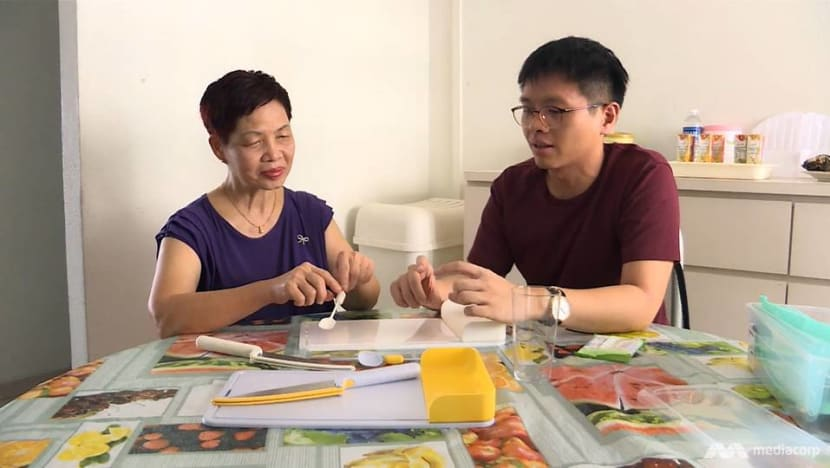 Young designer invents kitchenware for the blind, but struggles to bring it to market