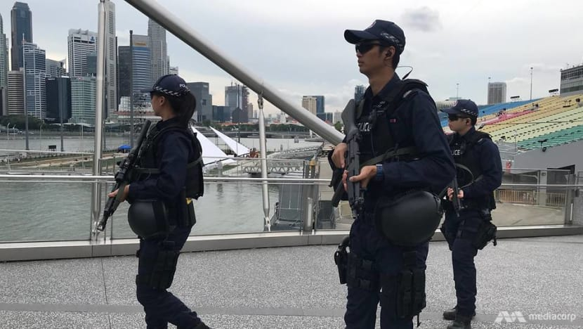 Boots on the ground, eyes in the sky: New Year's eve security measures at Marina Bay
