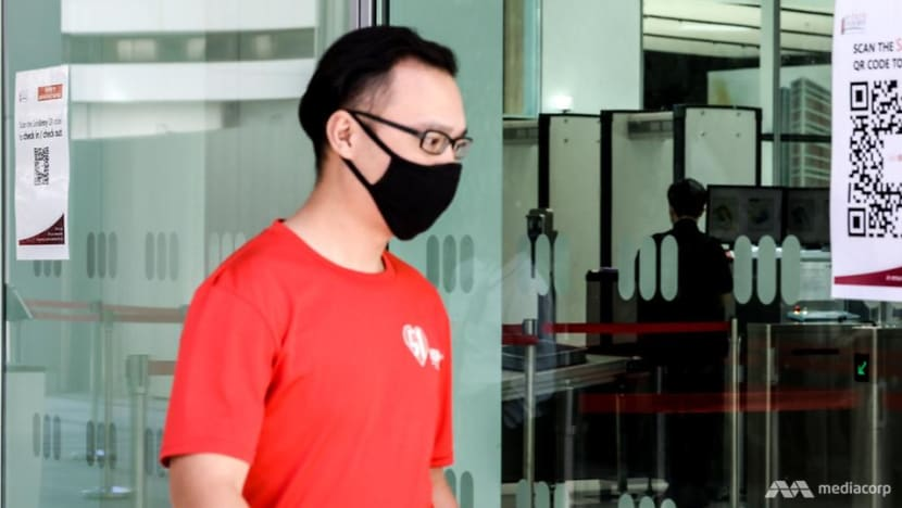 Man jailed for setting fire to Singapore flag, igniting flames on 7 other flags at HDB block