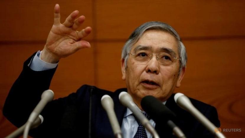 BOJ's Kuroda says c.banks should avoid one-size-fits-all climate standards