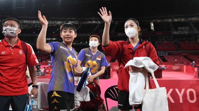 我国乒乓女团:将好好休息 再思考未来计划
