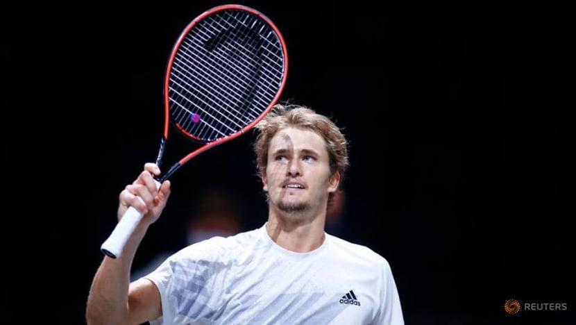 Tennis: Zverev destroys Schwartzman to complete Cologne double