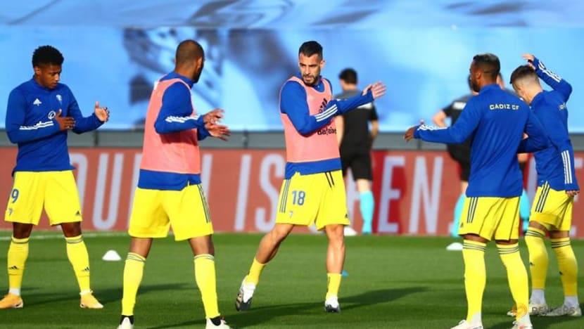 Surprise package Cadiz join Sociedad on top of La Liga