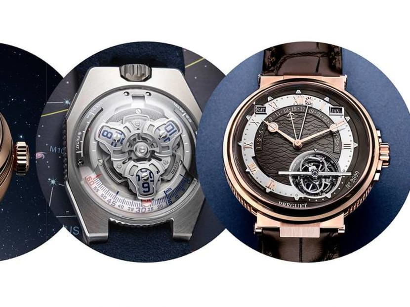 A planetarium on the wrist: What's the point of pointless watch complications?