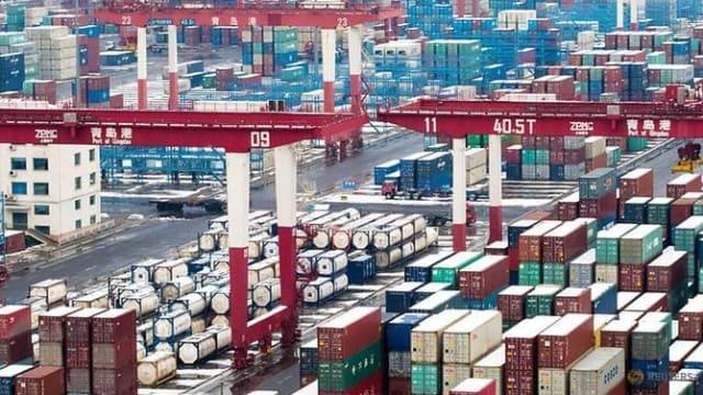 中国9月份出口年比增28.1%