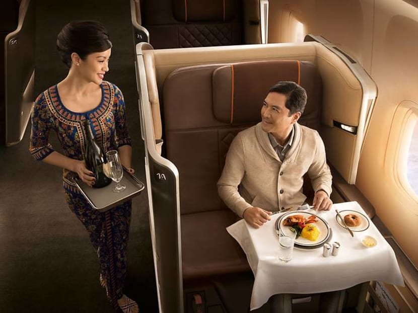 Which wine is light enough to let you rest well during a long-haul flight?