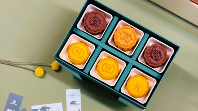 Green Common全素月饼 环保饼盒藏小巧思