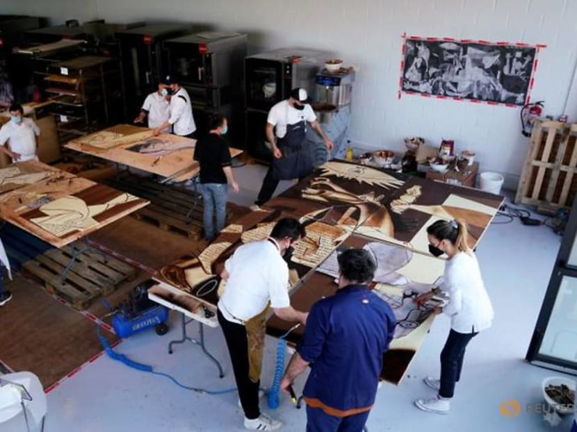 Basque chocolatiers recreate 'Guernica' in show of skill and cultural pride