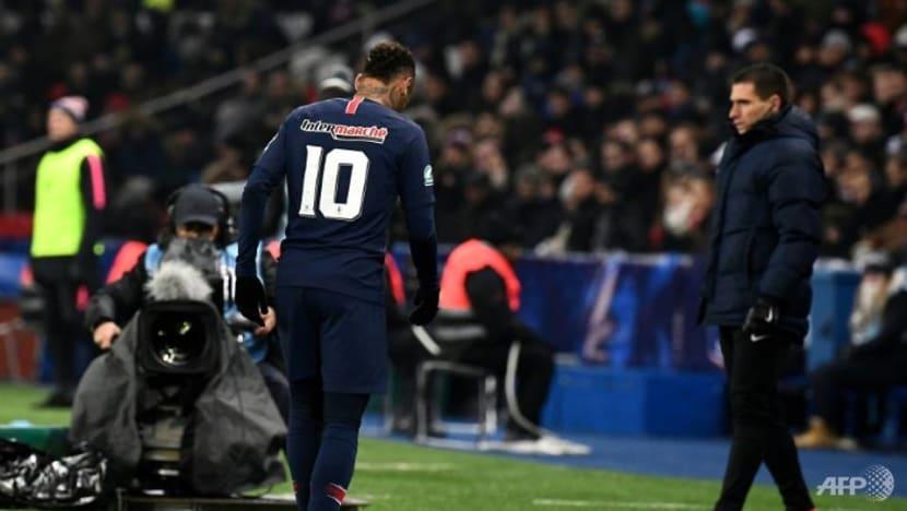 Football: Neymar hoping for divine help after fresh metatarsal injury