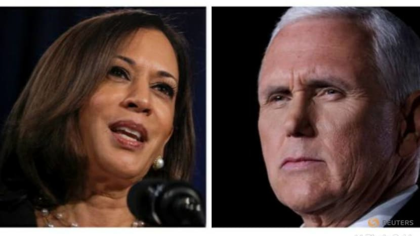 Vice presidential debate between Mike Pence and Kamala Harris still on