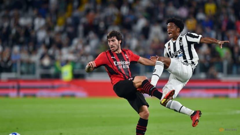 Football: Rebic earns Milan late draw at winless Juve