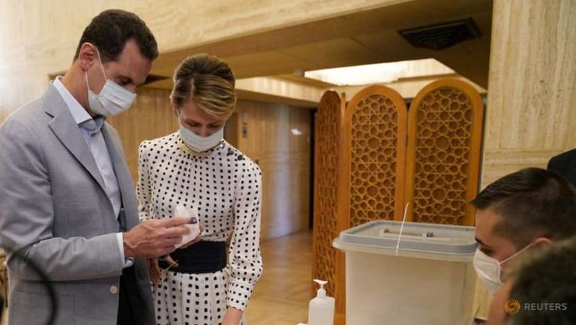 Syria's Assad and his wife test positive for COVID-19
