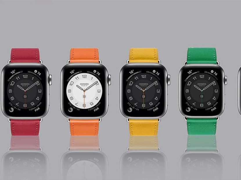 Wrist candy: The Apple Watch Hermes now comes in a palette of bright colours