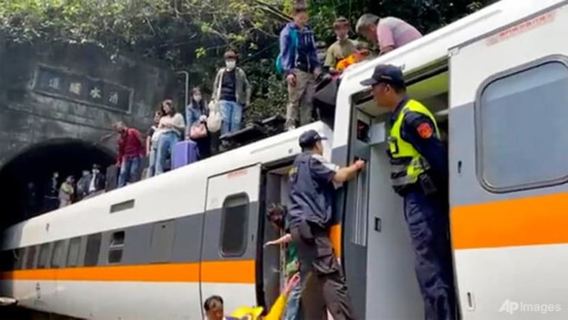 Taiwan train was full when it crashed, passengers standing and thrown about: Reports