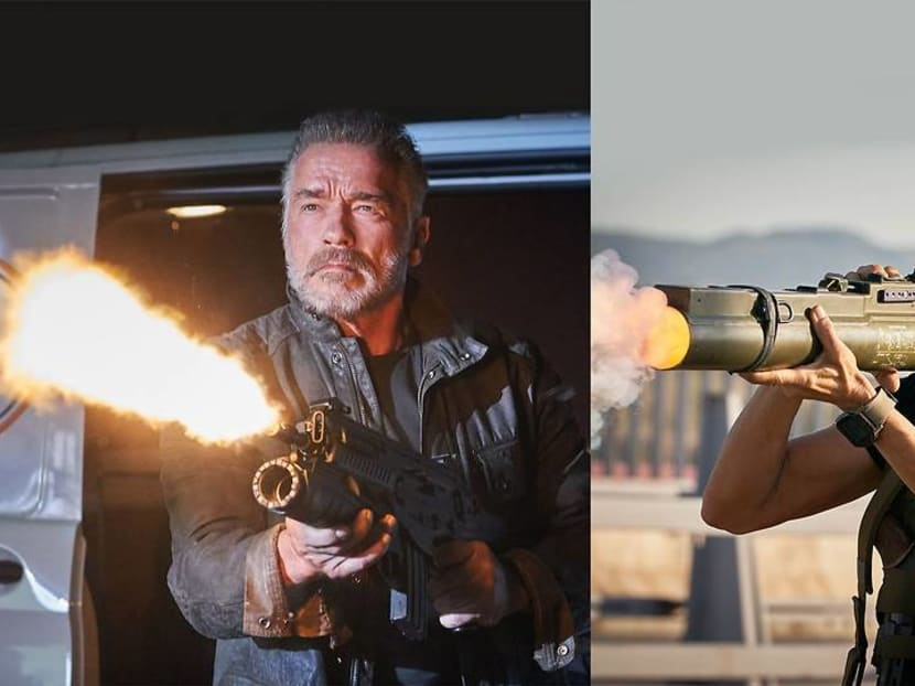 He's 72, she's 63: Terminator's senior citizens are the biggest action stars right now