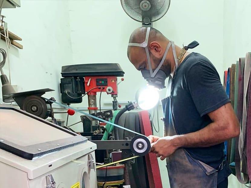 Creative Capital: A Kuala Lumpur knife-maker turns ordinary steel blades into art