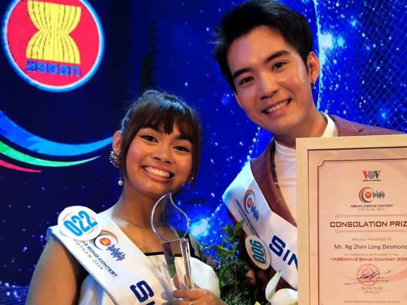 Singapore's Desmond Ng wins Most Potential award at song contest in Vietnam