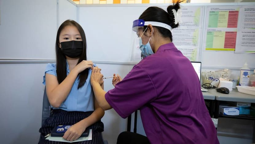 COVID-19 vaccinations for Singapore students aged 12 and above begin