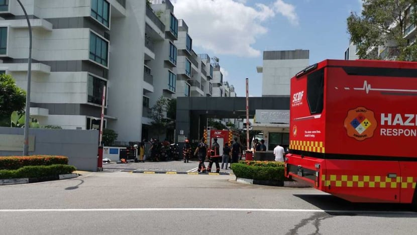 Residents evacuated from Woodlands condo after spill involving substances common in pesticides
