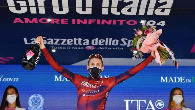Cycling: Martin wins Giro stage 17 as Bernal shows first sign of weakness