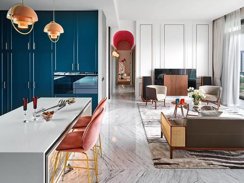 For a young Singapore family, this colourful apartment is a whimsical haven
