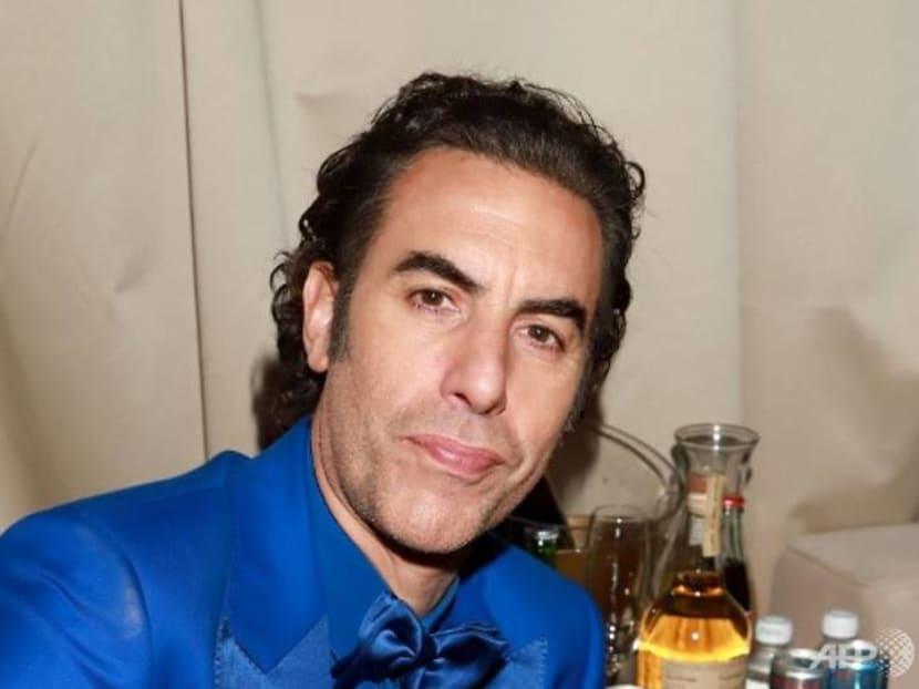 Naughty prank: Actor Sacha Baron Cohen gets people to sing racist lyrics at festival