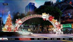 Orchard Road hopes for 'a return to normalcy' with annual Christmas light-up | Video