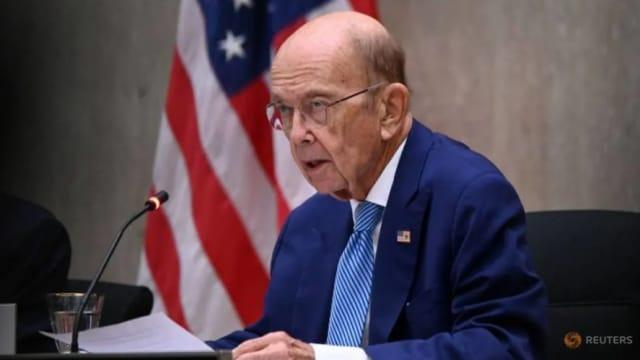 中国制裁七名美国人员和实体 其包括前商务部长