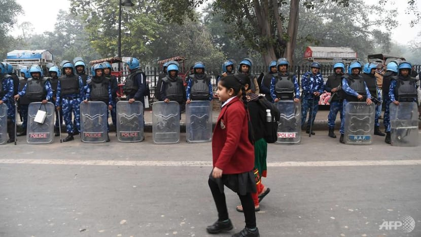 Delhi cuts mobile phone services as India protests rage nationwide