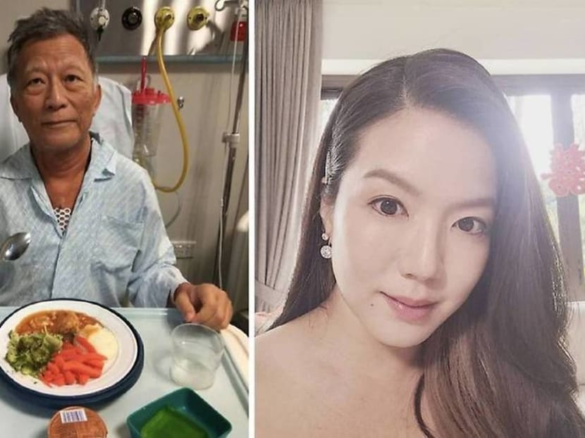 Actress Rui En updates fans that her father is 'recovering very well' after bypass surgery