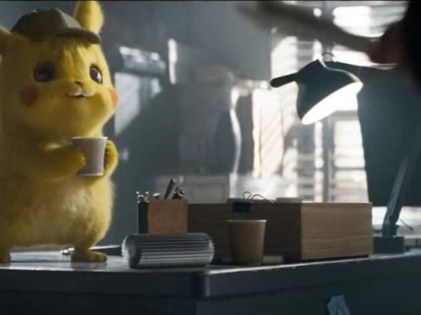 New Detective Pikachu trailer introduces a fluffy Flareon and a terrifying Mewtwo