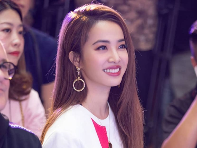 Is that Jolin Tsai or just another auntie at the supermarket?